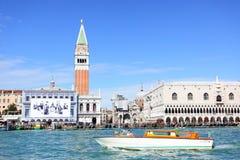 水出租汽车在威尼斯 免版税库存图片