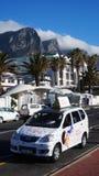 出租汽车在开普敦,南非 免版税库存图片