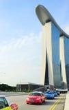 出租汽车新加坡 库存图片