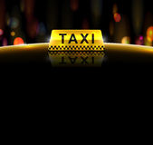 出租汽车服务 库存照片