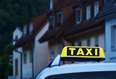 出租汽车汽车 图库摄影