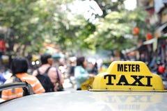 出租汽车符号 库存图片