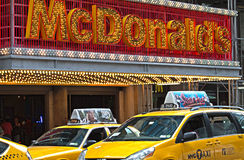 出租汽车纽约 图库摄影