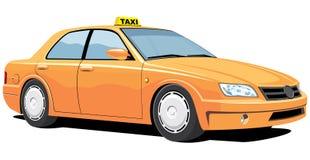 出租汽车黄色 免版税图库摄影