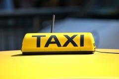 出租汽车 免版税库存照片