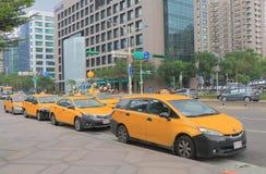 出租车公共交通工具台湾台北 免版税库存图片