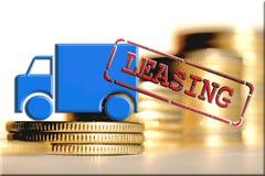 出租-借贷的形式,当您购买昂贵的物品 免版税库存照片