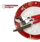 刀叉餐具集 库存图片
