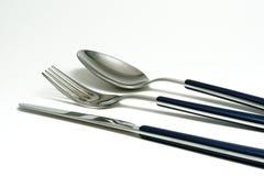 刀叉餐具餐位餐具 图库摄影