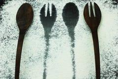 刀叉餐具 库存图片