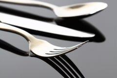 刀叉餐具A 免版税图库摄影