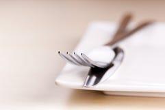 刀子和叉子 库存图片