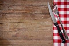 刀子和叉子 免版税库存照片