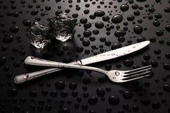 刀子和_叉子 库存照片