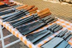 刀子在商店 库存图片