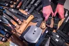 刀子,粉煤渣,香葱,短剑,poniard,snickersnee的短剑 免版税库存照片