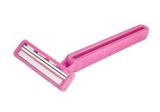 刀片方便的女性刮脸孪生 免版税库存照片