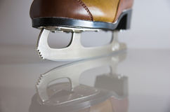 刀片溜冰鞋 免版税图库摄影