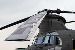 刀片直升机电动子 免版税图库摄影