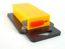 刀片长方形分配器的剃刀 免版税图库摄影
