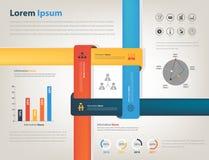 分享的公司信息Infographic 图库摄影