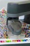 分光光度表机器人 免版税库存图片