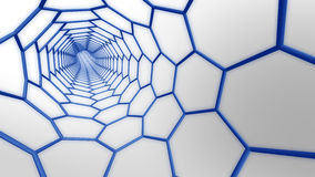 分子万维网 免版税图库摄影