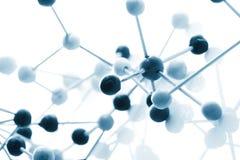 分子的背景 免版税库存图片