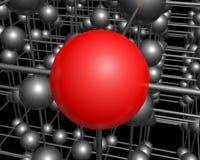 分子 图库摄影