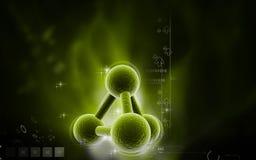 分子 免版税库存照片