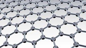 分子nanostructure 库存例证