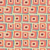 分层堆积在彼此的多彩多姿的长方形 库存例证