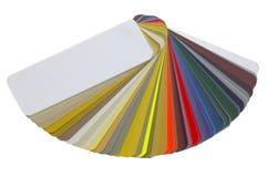 分布颜色图表 库存图片
