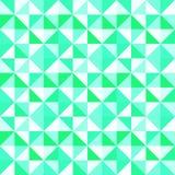 分成三角形的无缝的样式 传染媒介三角抽象背景 与三角的现代几何背景 明亮的颜色 T 皇族释放例证