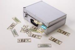 分散的货币 免版税库存图片