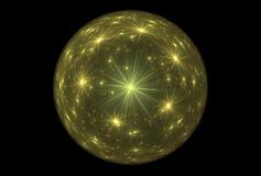 分数维不可思议的球幻想 皇族释放例证