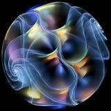 分数维微粒前进  向量例证