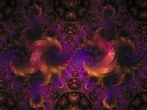 分数维抽象样式卷毛典雅精美艺术性 免版税图库摄影