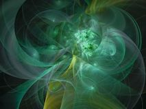 分数维摘要回报创造性的星云纹理亮光行动 库存图片