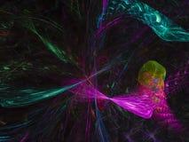 分数维摘要,美好的旋转概念能量介绍创造性的设计 图库摄影