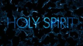 分数维圣灵被堆积的标题水摘要圈 向量例证