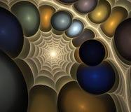 分数维宇宙 向量例证