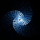 分数维螺旋背景 向量例证