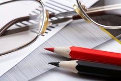 分析企业概念 免版税库存图片