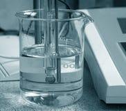 分析化学制品 免版税库存图片