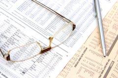 分析商业 免版税库存照片