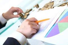 分析市场 免版税库存图片