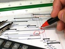 分析报表 免版税库存照片
