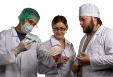 分析血液 库存图片