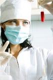 分析血液 免版税库存图片